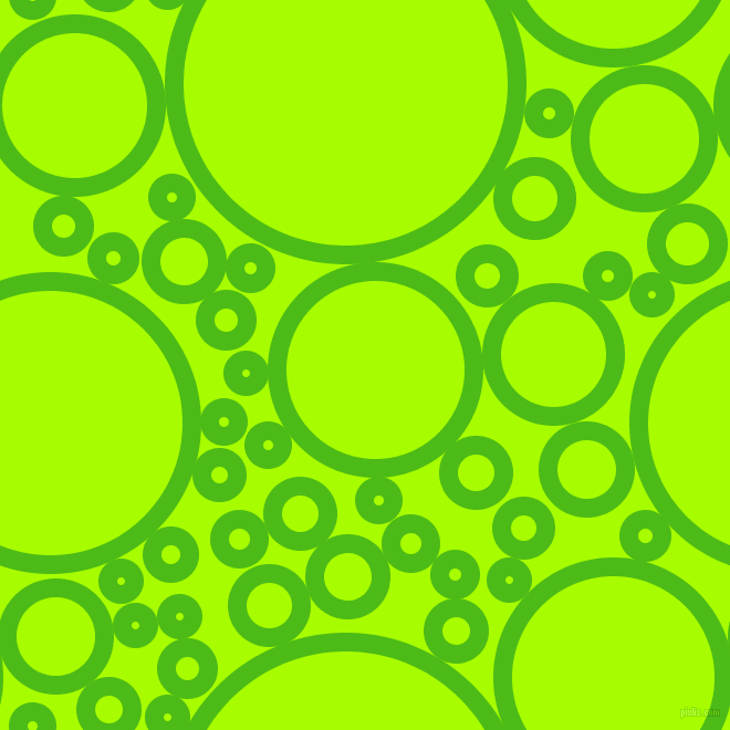 bubbles, circles, sponge, big, medium, small, 17 pixel line width, Kelly Green and Spring Bud circles bubbles sponge soap seamless tileable