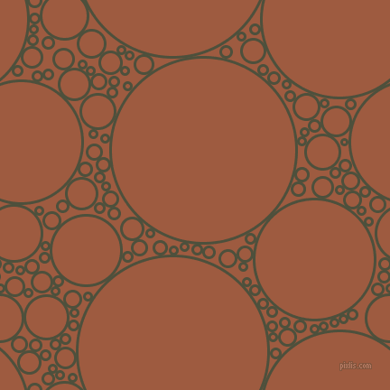 bubbles, circles, sponge, big, medium, small, 3 pixel line width, Kelp and Sepia circles bubbles sponge soap seamless tileable