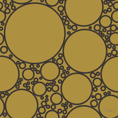 bubbles, circles, sponge, big, medium, small, 5 pixel line width, Kilamanjaro and Turmeric circles bubbles sponge soap seamless tileable
