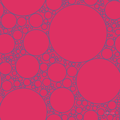 bubbles, circles, sponge, big, medium, small, 2 pixel line width, Kimberly and Cerise circles bubbles sponge soap seamless tileable