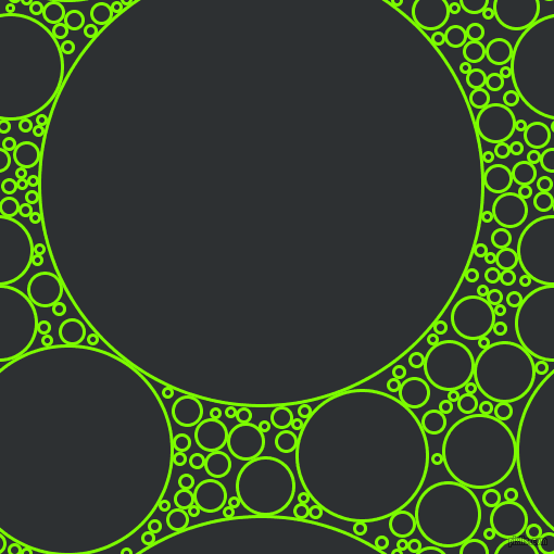 bubbles, circles, sponge, big, medium, small, 3 pixel line width, Lawn Green and Cod Grey circles bubbles sponge soap seamless tileable
