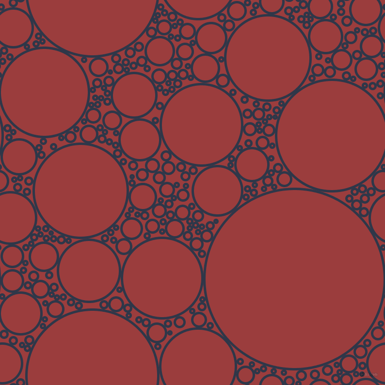 bubbles, circles, sponge, big, medium, small, 5 pixel line width, Licorice and Mexican Red circles bubbles sponge soap seamless tileable