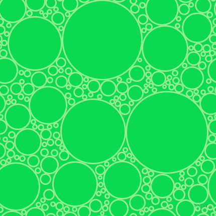bubbles, circles, sponge, big, medium, small, 3 pixel line width, Light Green and Malachite circles bubbles sponge soap seamless tileable