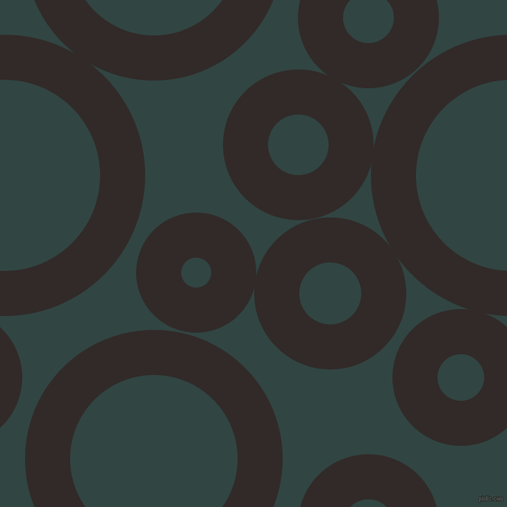 bubbles, circles, sponge, big, medium, small, 65 pixel line width, Livid Brown and Firefly circles bubbles sponge soap seamless tileable