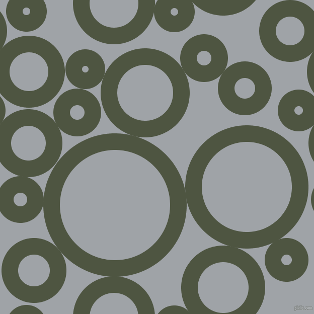 bubbles, circles, sponge, big, medium, small, 33 pixel line width, Lunar Green and Grey Chateau circles bubbles sponge soap seamless tileable