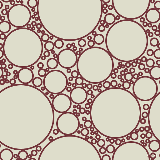 bubbles, circles, sponge, big, medium, small, 5 pixel line width, Merlot and Green White circles bubbles sponge soap seamless tileable