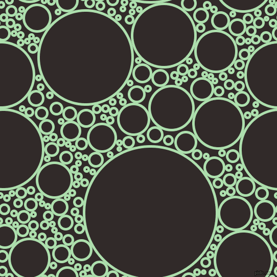 bubbles, circles, sponge, big, medium, small, 5 pixel line widthMoss Green and Livid Brown circles bubbles sponge soap seamless tileable