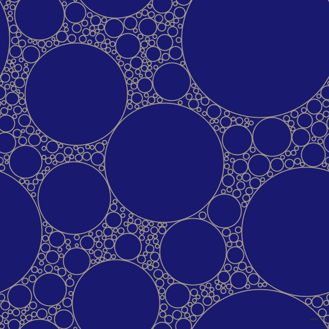 bubbles, circles, sponge, big, medium, small, 2 pixel line width, Nomad and Midnight Blue circles bubbles sponge soap seamless tileable