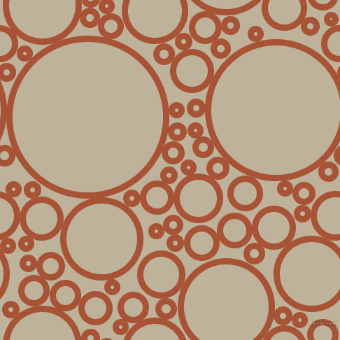 bubbles, circles, sponge, big, medium, small, 9 pixel line width, Orange Roughy and Akaroa circles bubbles sponge soap seamless tileable