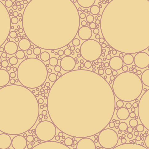 bubbles, circles, sponge, big, medium, small, 3 pixel line width, Oriental Pink and Splash circles bubbles sponge soap seamless tileable