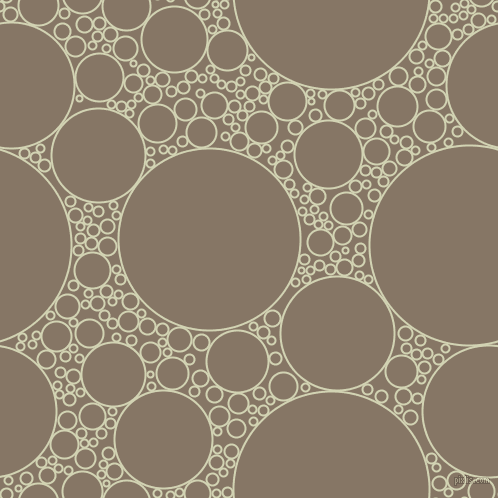 bubbles, circles, sponge, big, medium, small, 2 pixel line width, Orinoco and Sand Dune circles bubbles sponge soap seamless tileable