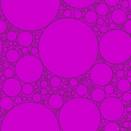 Palatinate Purple and Deep Magenta circles bubbles sponge ...