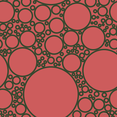 bubbles, circles, sponge, big, medium, small, 5 pixel line widthPalm Leaf and Indian Red circles bubbles sponge soap seamless tileable
