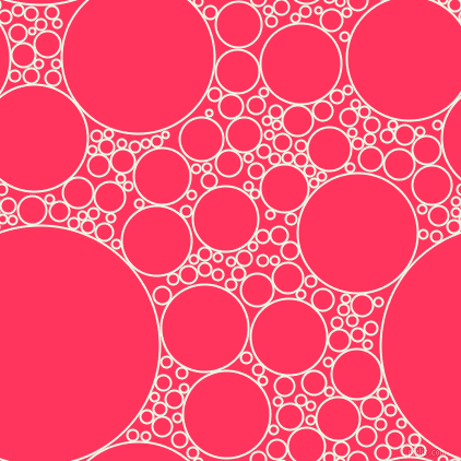bubbles, circles, sponge, big, medium, small, 2 pixel line width, Panache and Radical Red circles bubbles sponge soap seamless tileable