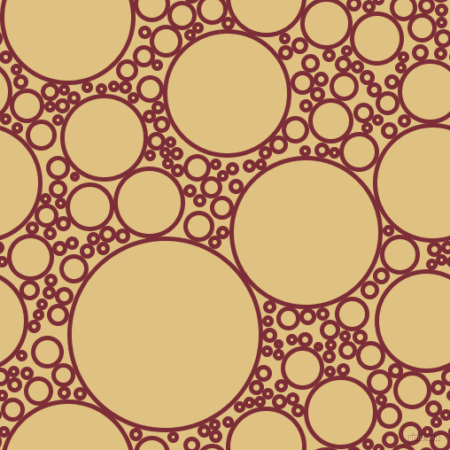 bubbles, circles, sponge, big, medium, small, 5 pixel line width, Paprika and Chalky circles bubbles sponge soap seamless tileable