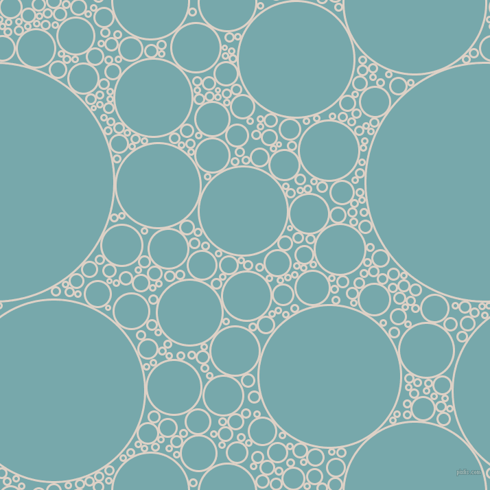bubbles, circles, sponge, big, medium, small, 3 pixel line width, Pearl Bush and Neptune circles bubbles sponge soap seamless tileable