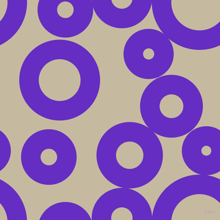 bubbles, circles, sponge, big, medium, small, 65 pixel line width, Purple Heart and Sisal circles bubbles sponge soap seamless tileable