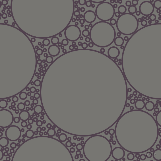 bubbles, circles, sponge, big, medium, small, 5 pixel line width, Purple Taupe and Dove Grey circles bubbles sponge soap seamless tileable