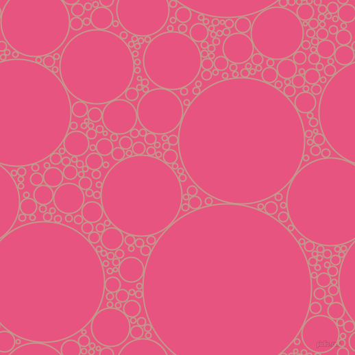 bubbles, circles, sponge, big, medium, small, 2 pixel line width, Quicksand and Dark Pink circles bubbles sponge soap seamless tileable