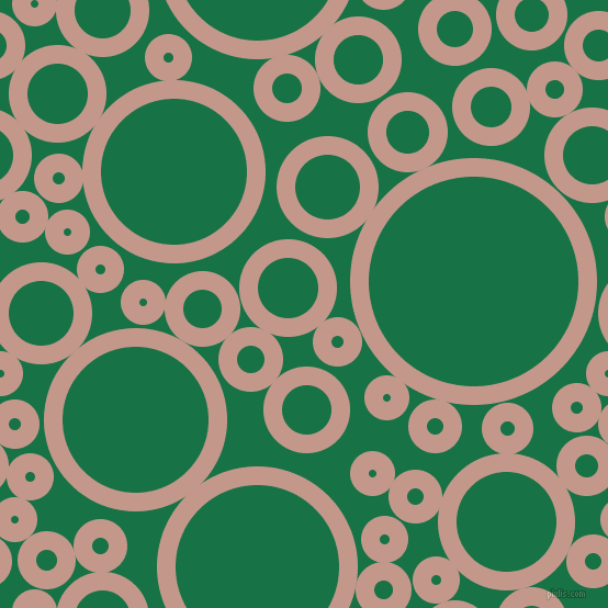 bubbles, circles, sponge, big, medium, small, 17 pixel line width, Quicksand and Dark Spring Green circles bubbles sponge soap seamless tileable