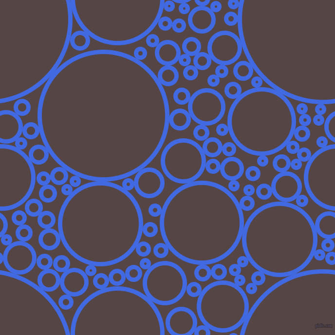 Background Image Circles Bubbles Sponge Soap Seamless Tileable Royal Blue Woody Brown 238tds on Pixel Circles