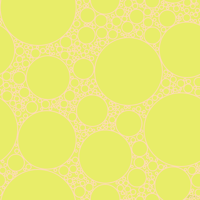 bubbles, circles, sponge, big, medium, small, 3 pixel line width, Sandy Beach and Honeysuckle circles bubbles sponge soap seamless tileable