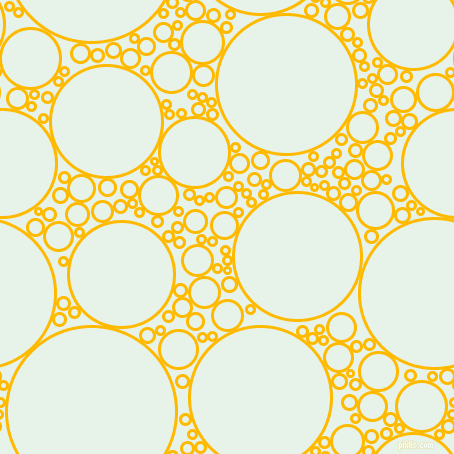 bubbles, circles, sponge, big, medium, small, 3 pixel line width, Selective Yellow and Dew circles bubbles sponge soap seamless tileable