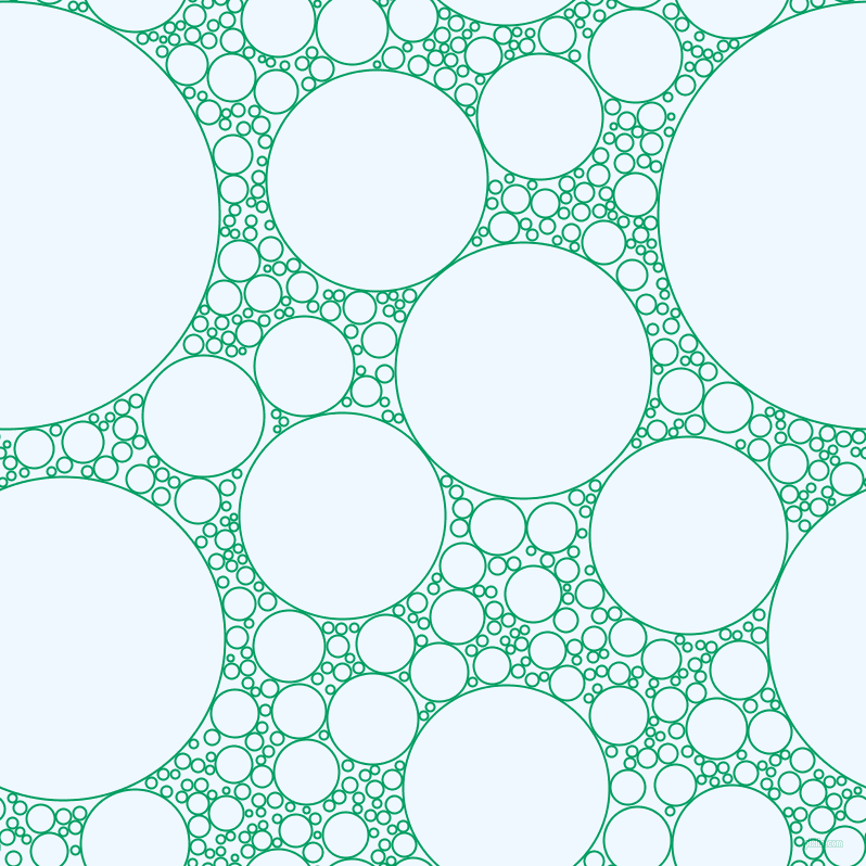 bubbles, circles, sponge, big, medium, small, 2 pixel line width, Shamrock Green and Alice Blue circles bubbles sponge soap seamless tileable