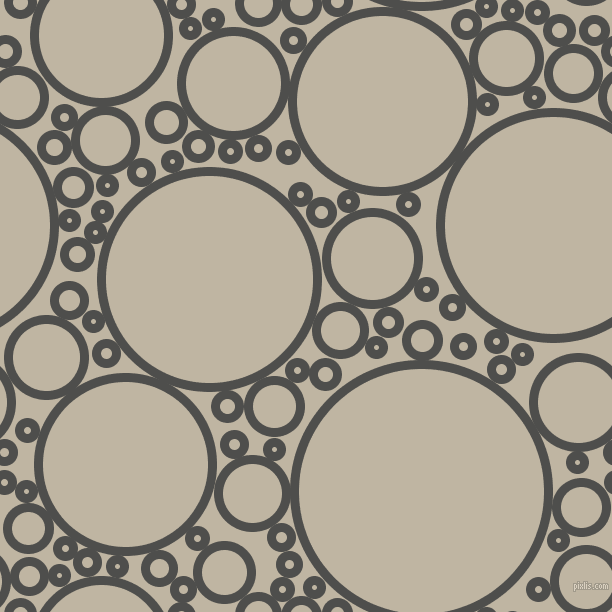 bubbles, circles, sponge, big, medium, small, 9 pixel line width, Ship Grey and Tea circles bubbles sponge soap seamless tileable