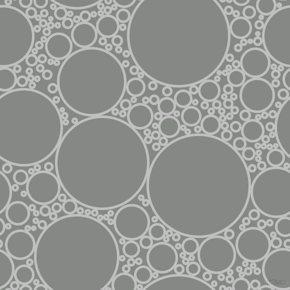 bubbles, circles, sponge, big, medium, small, 5 pixel line width, Silver and Stack circles bubbles sponge soap seamless tileable