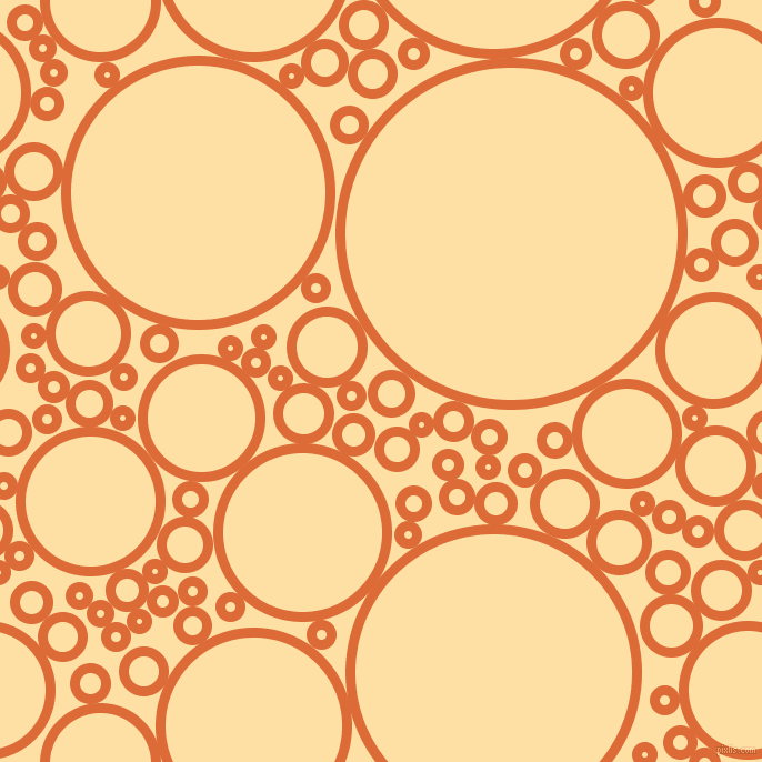 bubbles, circles, sponge, big, medium, small, 9 pixel line width, Sorbus and Cape Honey circles bubbles sponge soap seamless tileable
