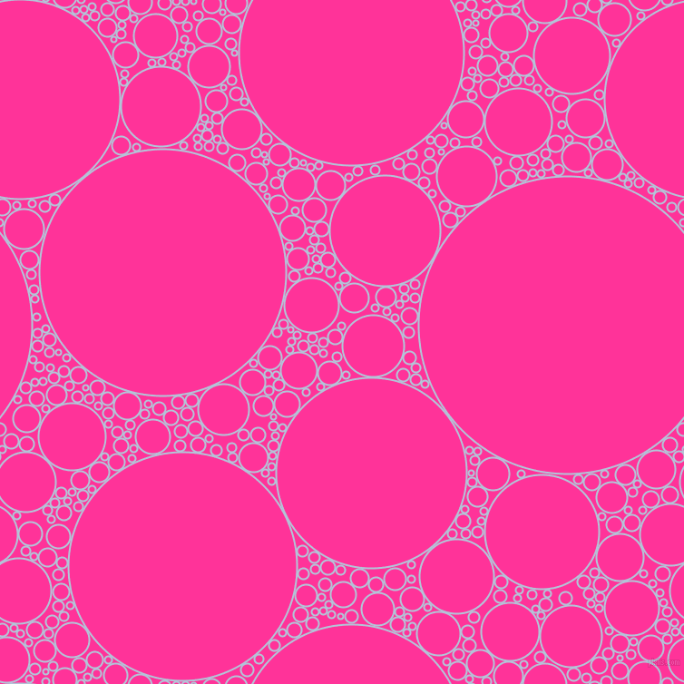 bubbles, circles, sponge, big, medium, small, 2 pixel line width, Spindle and Wild Strawberry circles bubbles sponge soap seamless tileable