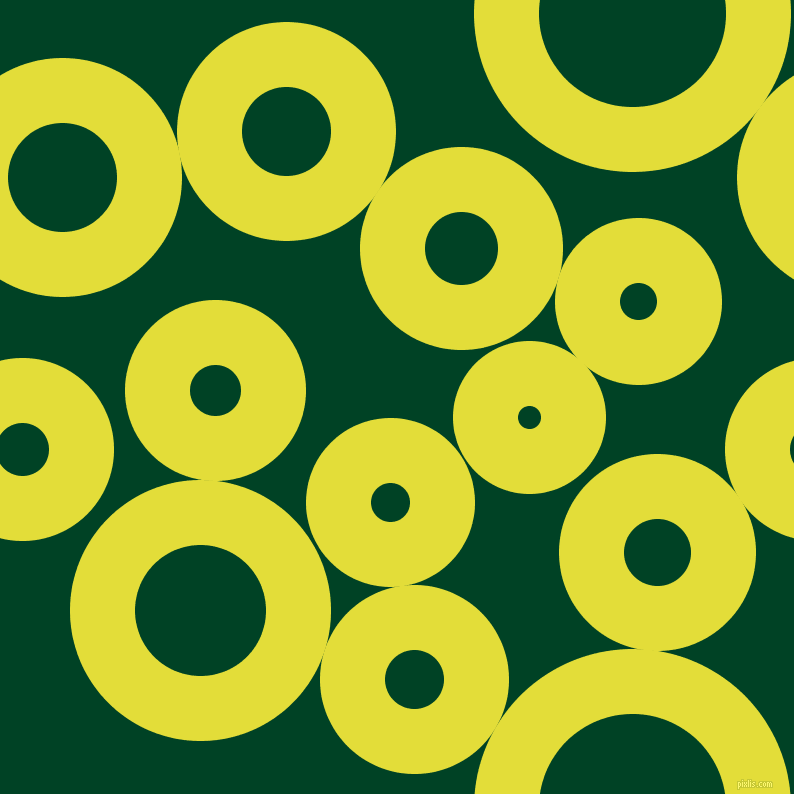 bubbles, circles, sponge, big, medium, small, 65 pixel line width, Starship and British Racing Green circles bubbles sponge soap seamless tileable