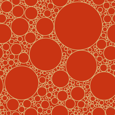 bubbles, circles, sponge, big, medium, small, 2 pixel line width, Straw and Harley Davidson Orange circles bubbles sponge soap seamless tileable