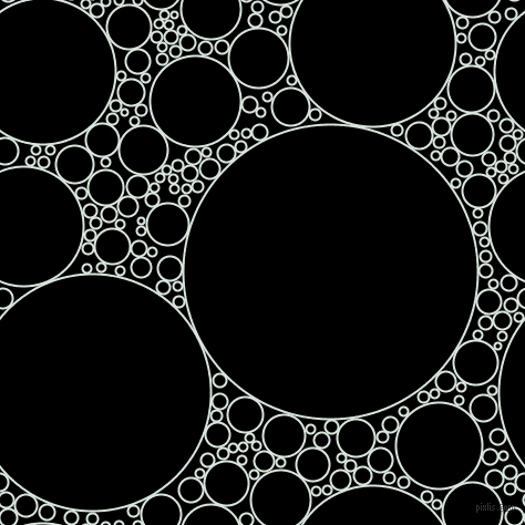 bubbles, circles, sponge, big, medium, small, 2 pixel line width, Swans Down and Black circles bubbles sponge soap seamless tileable