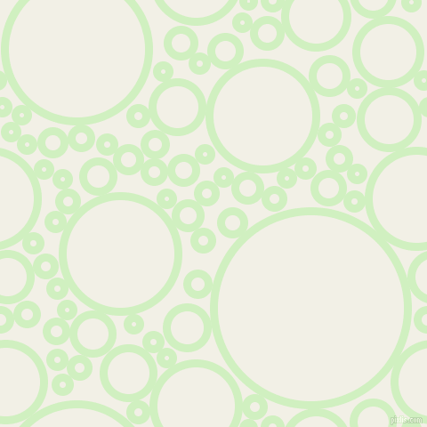 bubbles, circles, sponge, big, medium, small, 9 pixel line width, Tea Green and Alabaster circles bubbles sponge soap seamless tileable