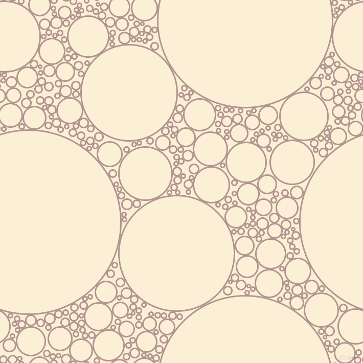 bubbles, circles, sponge, big, medium, small, 3 pixel line width, Thatch and Half Dutch White circles bubbles sponge soap seamless tileable