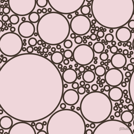 bubbles, circles, sponge, big, medium, small, 5 pixel line width, Tobago and Pale Rose circles bubbles sponge soap seamless tileable