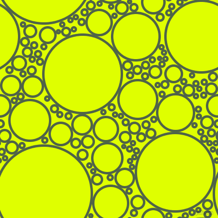 bubbles, circles, sponge, big, medium, small, 5 pixel line width, Tom Thumb and Chartreuse Yellow circles bubbles sponge soap seamless tileable