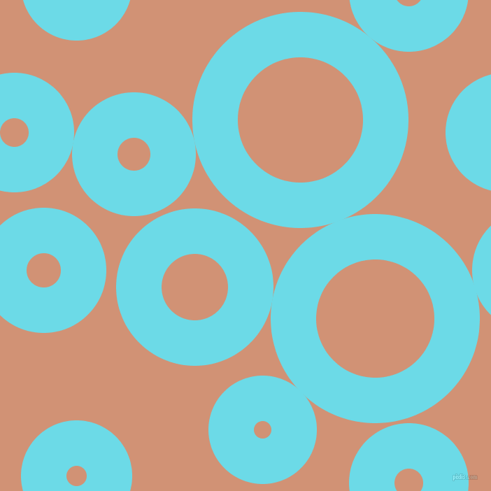 bubbles, circles, sponge, big, medium, small, 65 pixel line width, Turquoise Blue and Feldspar circles bubbles sponge soap seamless tileable