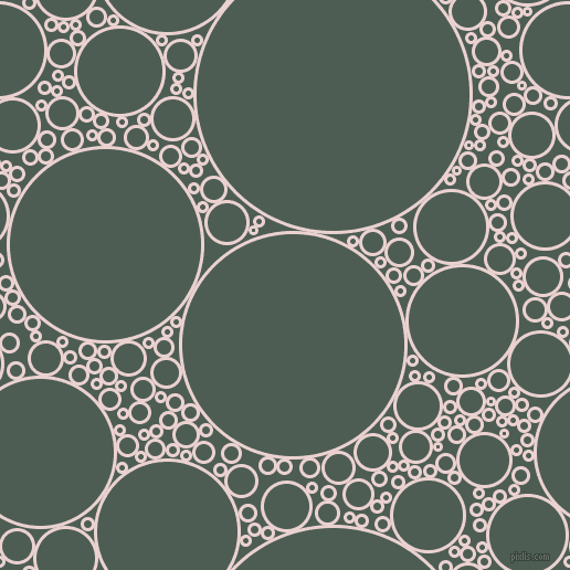 bubbles, circles, sponge, big, medium, small, 3 pixel line width, Vanilla Ice and Feldgrau circles bubbles sponge soap seamless tileable
