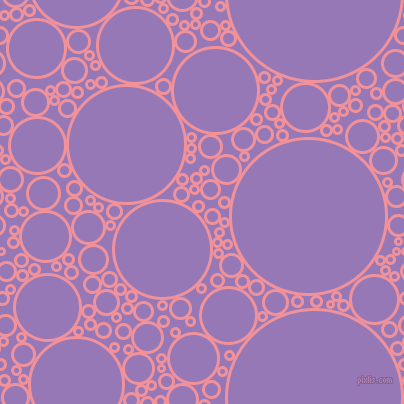 bubbles, circles, sponge, big, medium, small, 3 pixel line width, Wewak and Purple Mountain