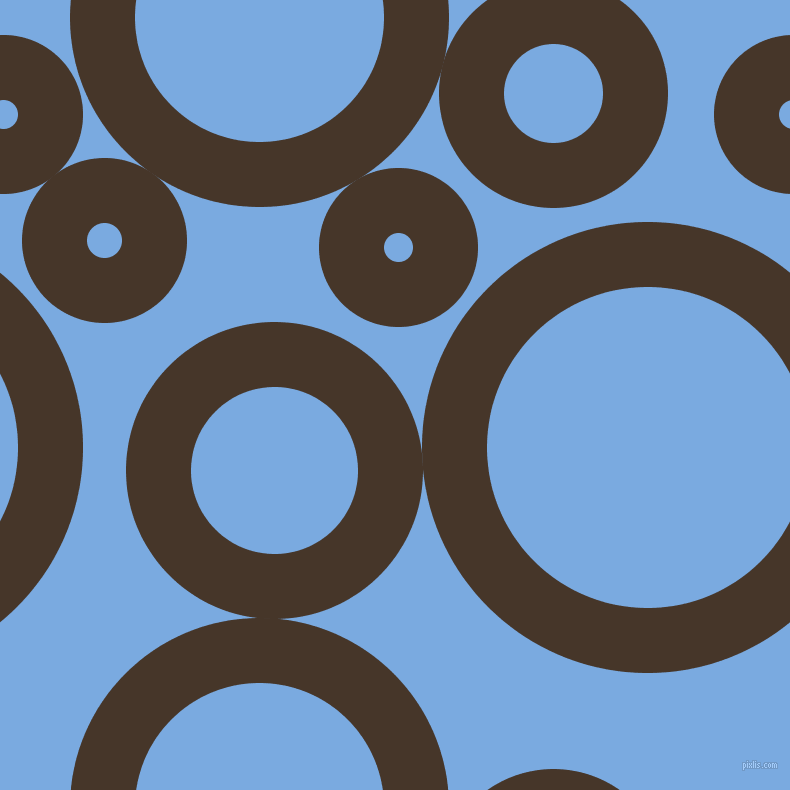 bubbles, circles, sponge, big, medium, small, 65 pixel line width, Woodburn and Jordy Blue circles bubbles sponge soap seamless tileable