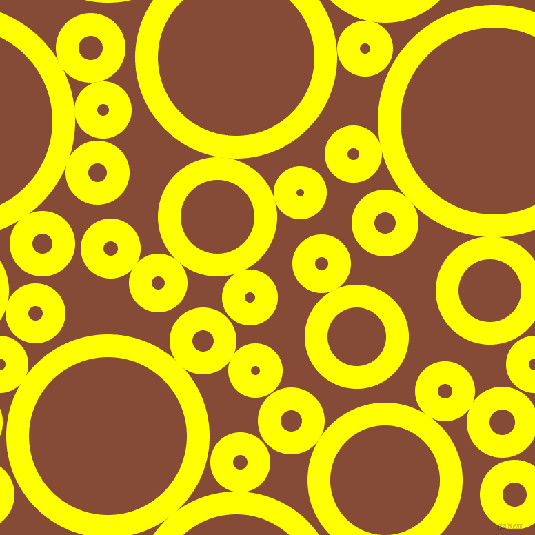 bubbles, circles, sponge, big, medium, small, 33 pixel line width, Yellow and Paarl circles bubbles sponge soap seamless tileable