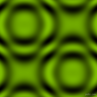, Citrus and Black and White circular plasma waves seamless tileable