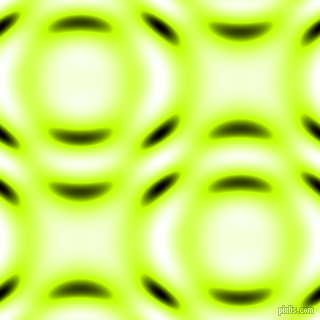 Electric Lime and Black and White circular plasma waves seamless tileable
