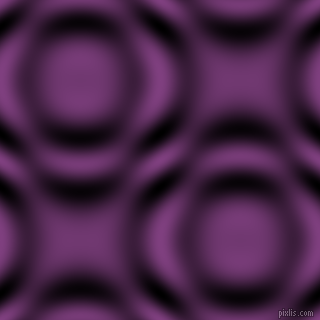 Eminence and Black and White circular plasma waves seamless tileable