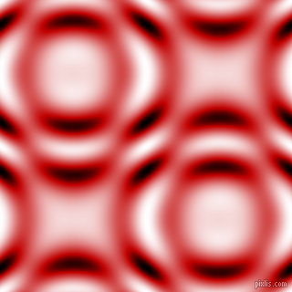 , Free Speech Red and Black and White circular plasma waves seamless tileable