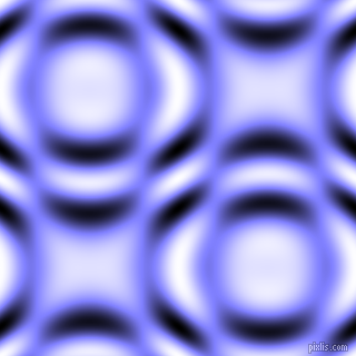 , Light Slate Blue and Black and White circular plasma waves seamless tileable
