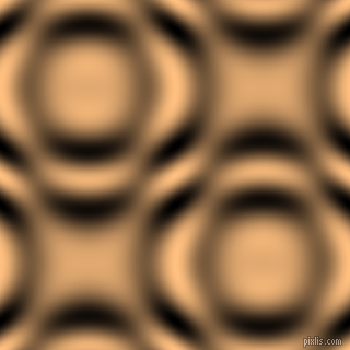 Macaroni And Cheese and Black and White circular plasma waves seamless tileable